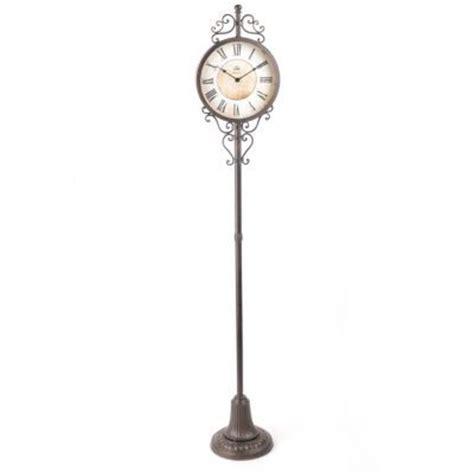 pedestal clock metal pedestal floor clock kirkland s home pinterest