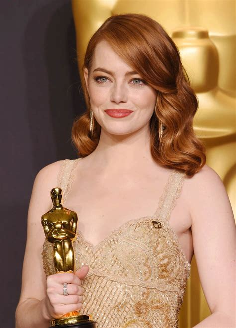 Emma Stone Oscar | emma stone wins best actress at the 2017 oscars