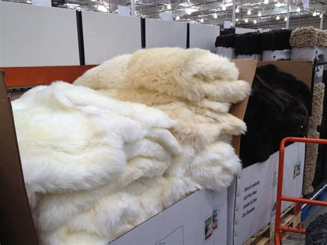 Costco Fur Rug great find costco sheepskin rug twoinspiredesign