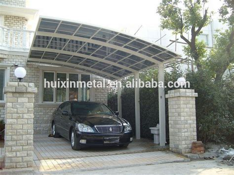 polycarbonate carports with aluminum frame hx111 buy