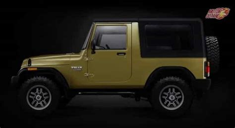 mahindra thar new launch mahindra thar 2018 price in india launch features