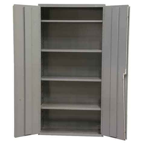 Gray Bar Cabinet Storage Containers Cheap Durham Industrial Cabinet 36x18x84 Quot With Spool Bar Gray