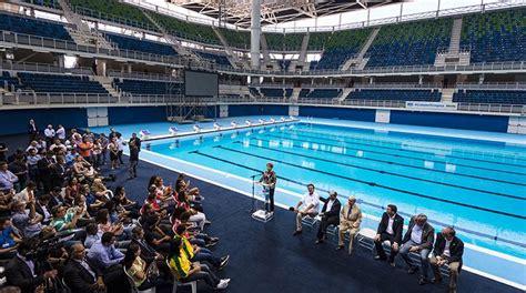 fotos de parque de piscinas y deportes im inauguran la piscina ol 237 mpica los tiempos