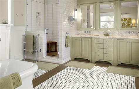 master bath upsized and unified master bath with period style this