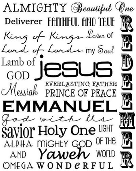 33 Easy Christmas Desserts names of jesus printable inspiring quotes and sayings