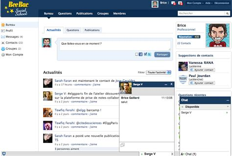 elgg facebook theme xmpp chat elgg org