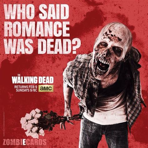 the walking dead valentines cards pin by eldredge on zombies