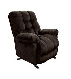 reclining plush chair sears