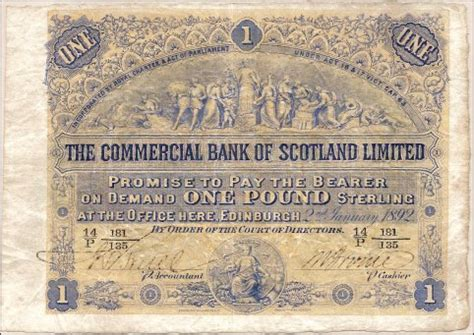 bank of scotland corporate scottish banknote picture library pam west bank