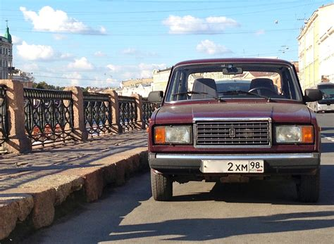 Lada Zhiguli Best Selling Cars Around The World Trans Siberian Series
