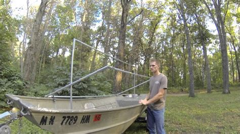 how to build a boat duck blind how to build your own duck blind dugout vs scissors style