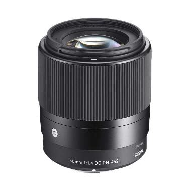 Lensa Sony For Android jual sigma 30mm f 1 4 dc dn contemporary lensa kamera for