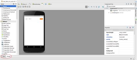 design editor unavailable android studio xml layout design preview not available
