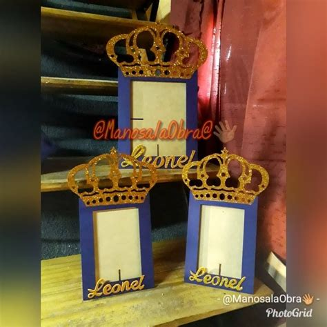 souvenirs tematica rey cumpleanos de primer ano