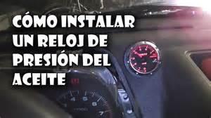 lada a bulbo c 243 mo instalar un reloj de aceite en nuestro coche