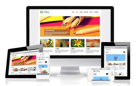 responsive joomla templates zt kru responsive joomla template for businesses