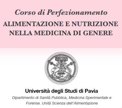 alimentazione università alimentazione della donna il corso di perfezionamento