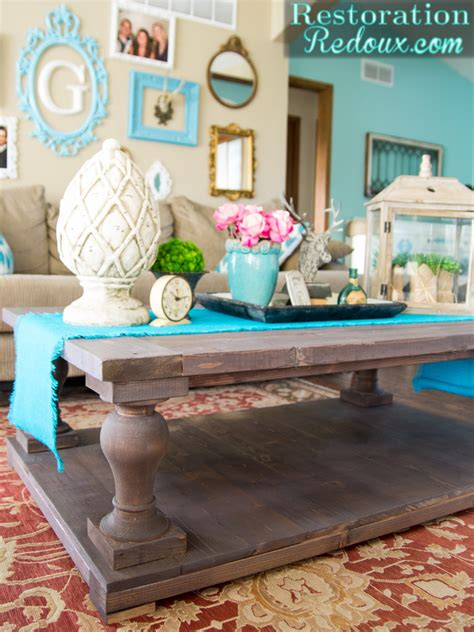 diy restoration hardware table i built my coffee table and i still all my