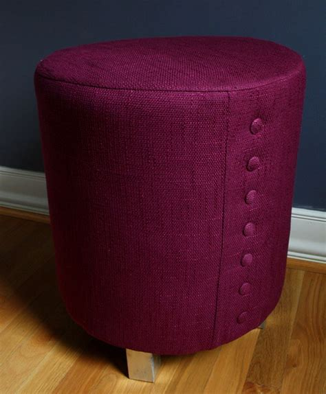 homemade pouf ottoman 30 diy ottoman floor pouf projects awesome tutorials