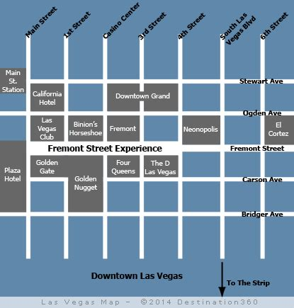 map of downtown las vegas pergsolreli las vegas map
