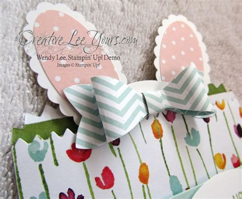 Mini Bar Gift Card - sweet bunny gift card holder creativelee yours