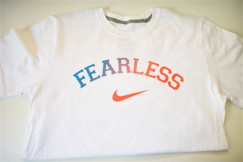 T Shirt Fearless nike fearless t shirts fearless bookstore
