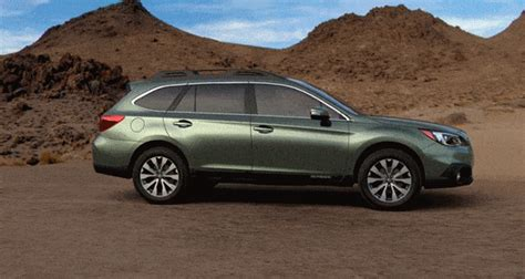 2015 Subaru Outback Wilderness Green Metallic