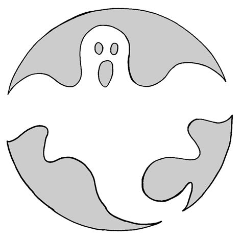 printable pumpkin stencils ghost halloween pumpkin carving stencils