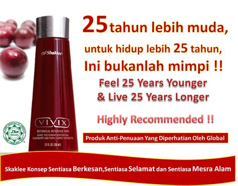 Seri Cantik Collagen Drink the cazamiya senarai produk shaklee untuk kulit putih cantik gebu
