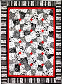 Free Black And White Quilt Patterns by Black White Allover Free Quilt Patterns Get