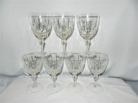 Antique Waterford Ls by Vintage Stuart Hshire Pattern Water Goblets