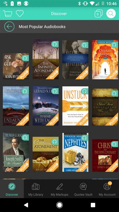 deseret book releases app that allows you to listen to