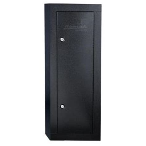 homak security 6 gun black steel security cabinet