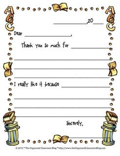 Thank You Letter Format 3rd Grade thank you letter to 4th grade 28 images thank you
