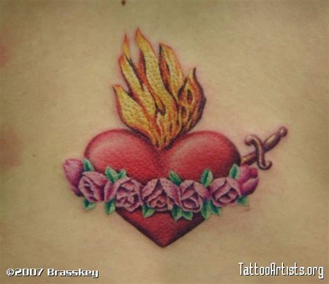 sacred heart tattoo design 1000 images about tattoos on sacred