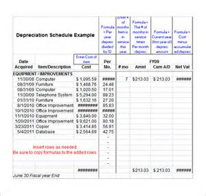 depreciation schedule template search results for work schedule monthly calendar 2015