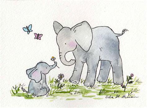 Elephant Nursery Art Children S Wall Art Nursery Decor Nursery Elephant Decor