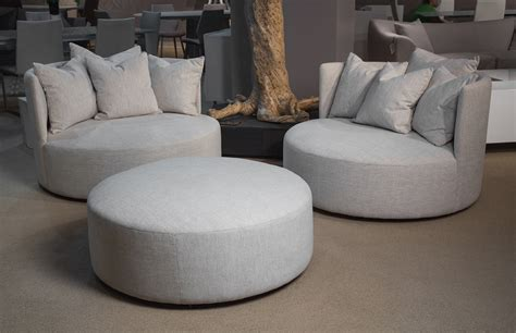 Michael Amini Dining Room Furniture Aico Trance European Modern Genesis Round Chair And Half