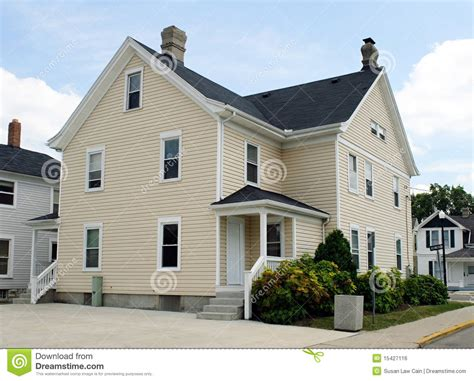 corner house back corner house royalty free stock image image 15427116