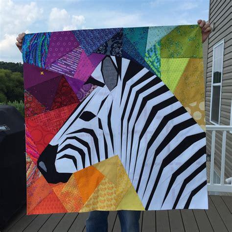 quilt pattern zebra foundation pieced quilts blocks on pinterest bed runner