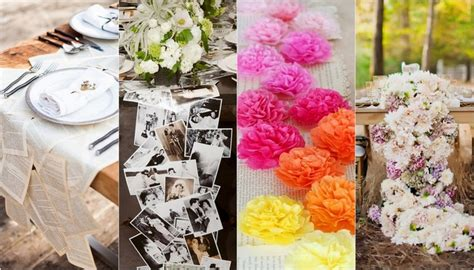 Diy Table Decorations For by 16 Diy Wedding Table Runner Ideas