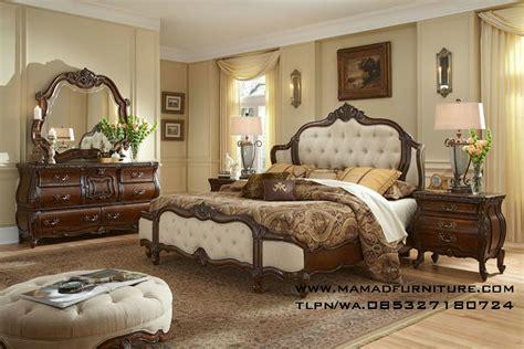 tempat tidur ukiran mewah jati jepara mamad furniture jepara