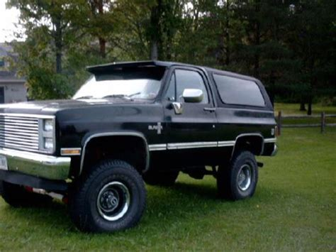 1987 chevrolet blazer 1987 k5 blazer specs autos post