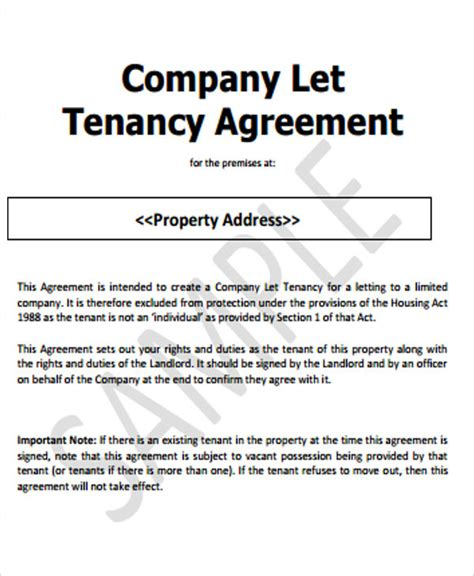 joint tenancy agreement template 37 basic agreement templates free premium templates