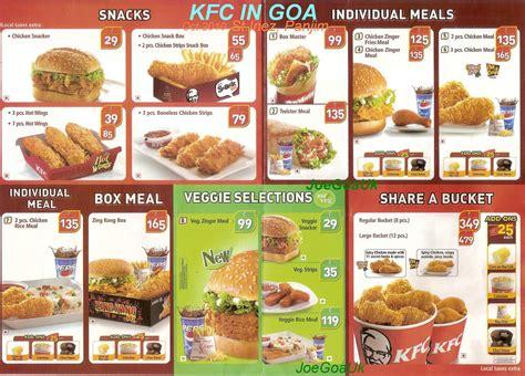 harga menu kfc terbaru januari 2016 harga menu harga paket kfc indonesia newhairstylesformen2014 com
