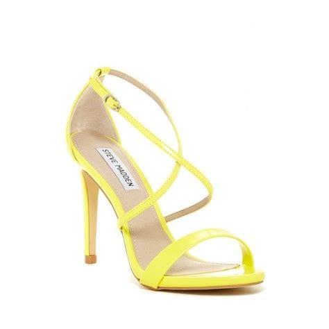 yellow strappy high heels yellow strappy heels ha heel