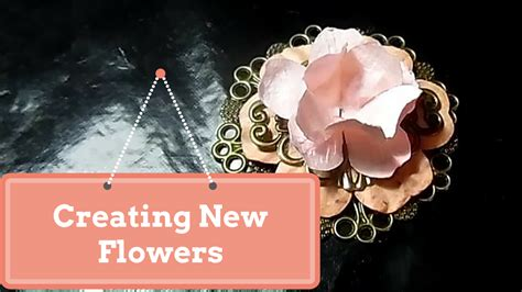 mulberry paper flower tutorial wild orchid crafts creating new flowers tutorial by sara