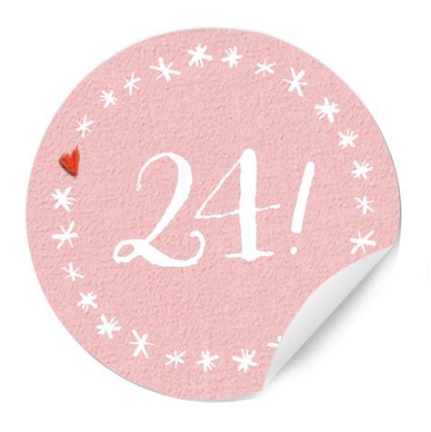 Zahlen Aufkleber Grau by 24 Adventskalender Zahlen Sticker Rund Grau Eine Der Guten