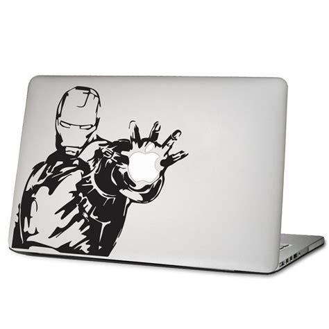 Macbook Aufkleber Ironman by Iron Laptop Macbook Sticker Aufkleber