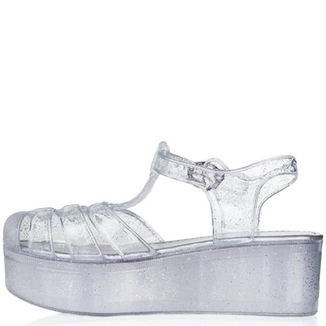 buy hawaii wedge heel buckle platform flatform jelly